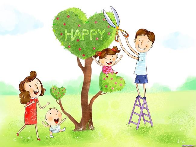 Дерево семьи своими руками нарисовать 4