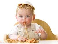 Маленькие дети и макароны…