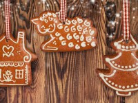 Вкусный Новый год. Имбирное печенье.