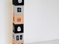 Делаем кубики, из которых можно построить дом. Создайте всей семьей!