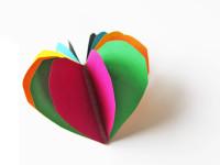 Делаем блокнотики в форме сердечек