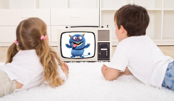 дети и мультфильмы
