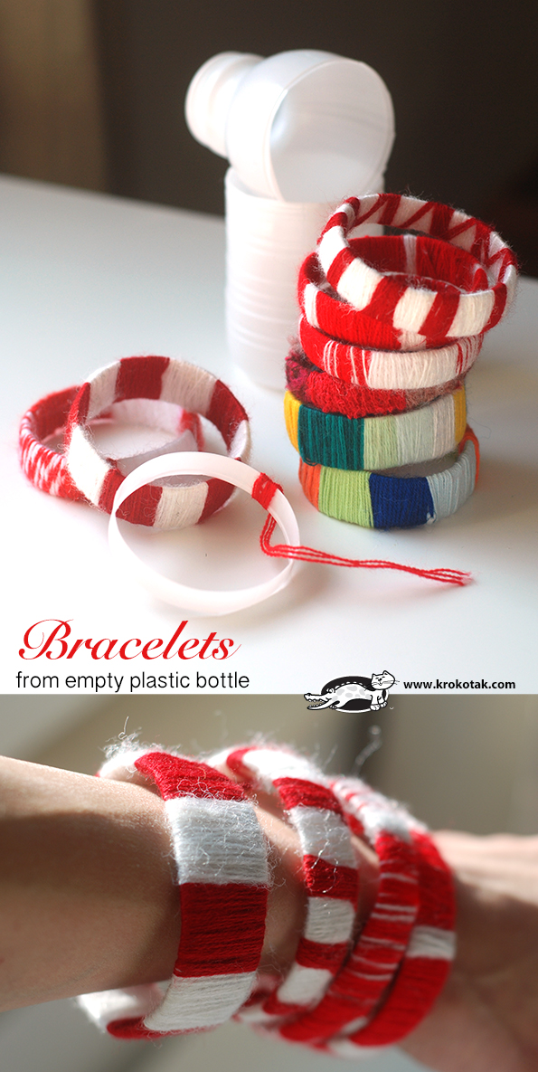 браслеты из бутылок
