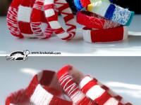 Делаем яркие браслеты из пластиковых бутылок. Радуем детишек