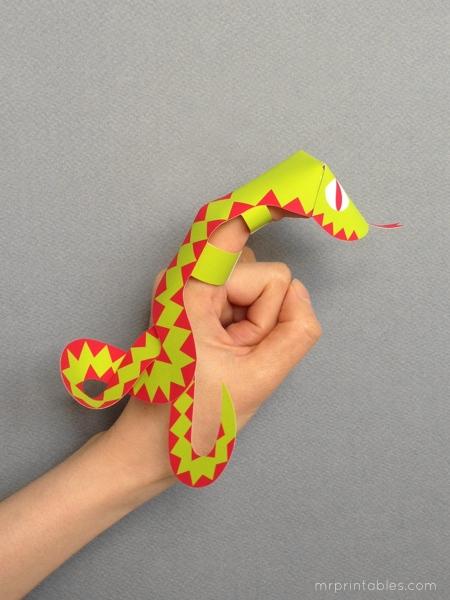 бумажная змея