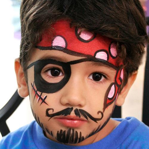 фото детский фейс-арт