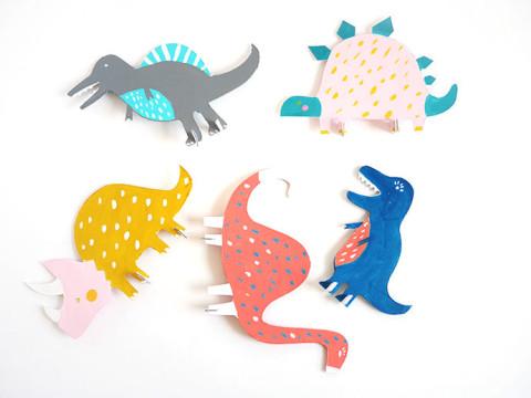 Картонные игрушки-животные, которые ваш ребенок раскрасит сам