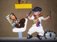 Чудесные идеи для фотосессии младенцев