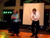 Браво!!! Бесподобный танец мамы и сына.