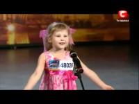 Девочка рассказала стих на шоу талантов. До слёз!