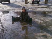 Дети в грязи. 13 фотографий детей, чья прогулка явно удалась