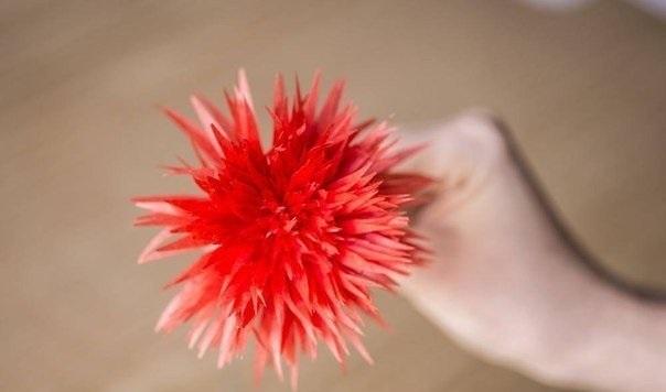 цветок своми руками