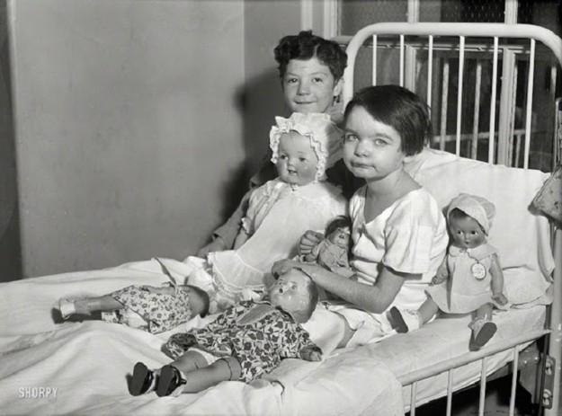 В больнице с игрушками веселей, Вашингтон, 1931 год