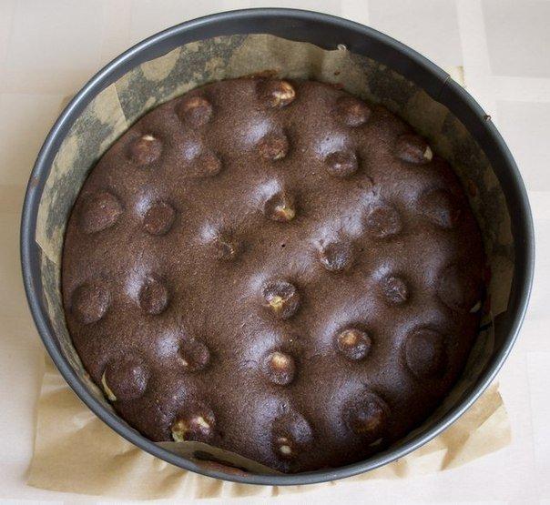 пирог творожно-шоколадный 4
