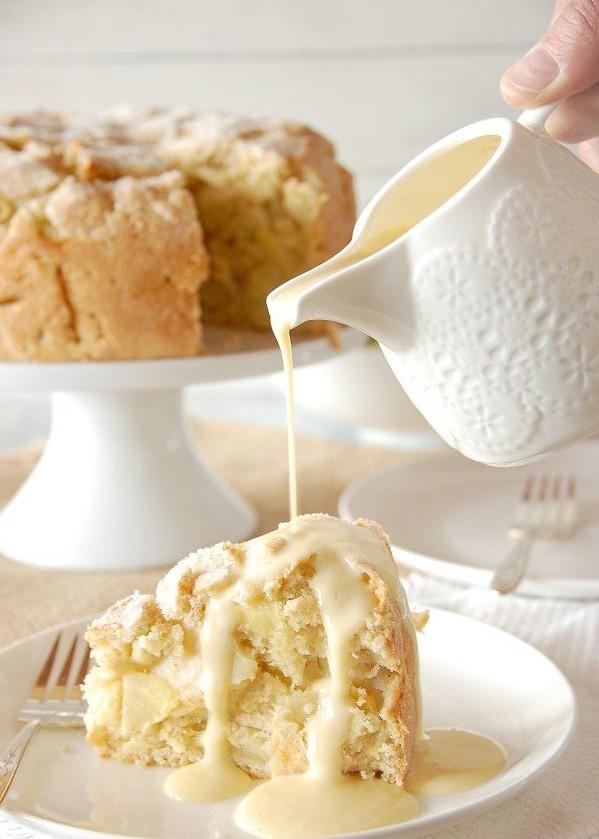 Рецепт яблучного пирога з 9