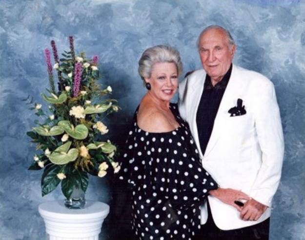 Фотография Линн и Сэнди Делл на 60-ю годовщину совместной жизни