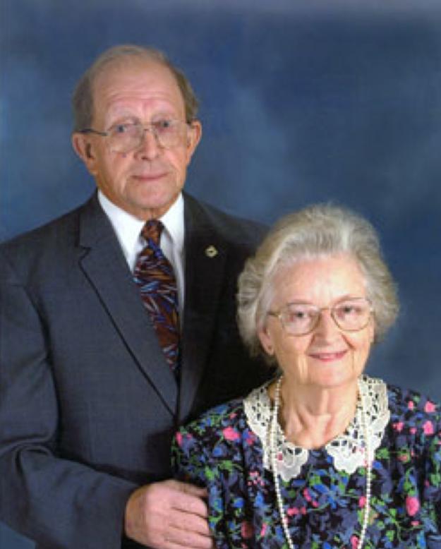 Морган и Максин Френч недавно отпраздновали 50-летие брака