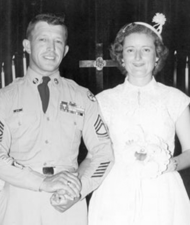 Морган и Максин Френч недавно отпраздновали 50-летие брака2