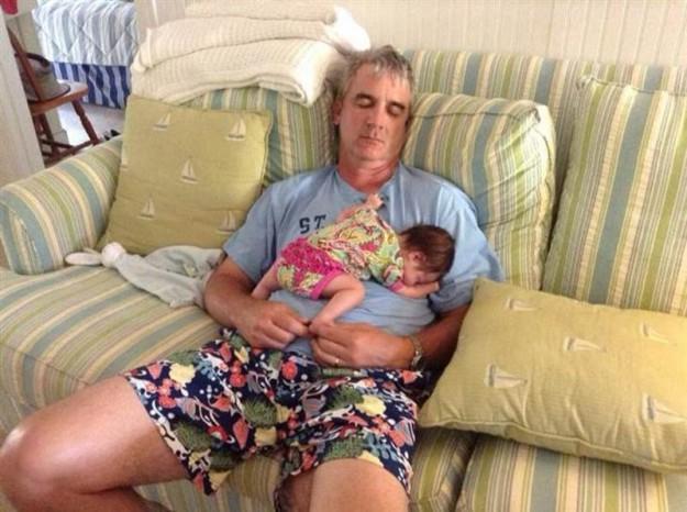 дед и внучка