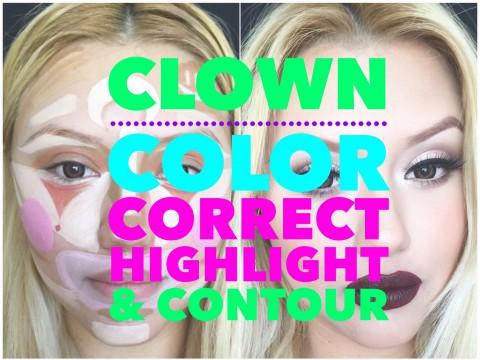 Эта клоунская раскраска на самом деле – основа профессионального макияжа!