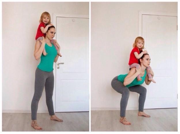 фитнесс для мам
