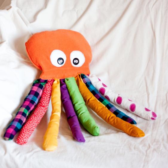 игрушечный осьминожек