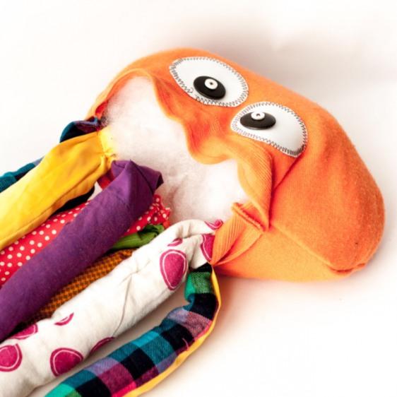 игрушка осьминог