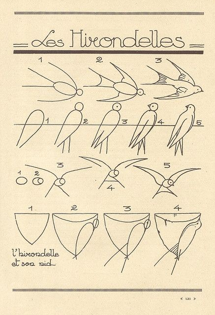 инструкции по рисованию