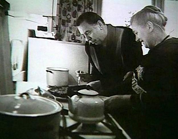 Анатолий Папанов с женой