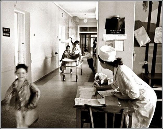 Детская больница времен СССР