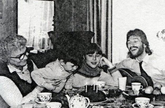 Игорь Тальков на дне рождения сына
