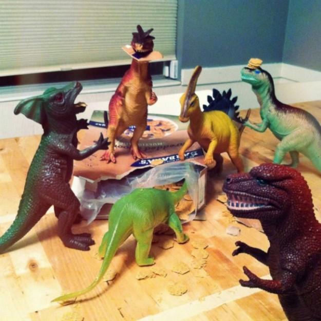 динозавры оживают
