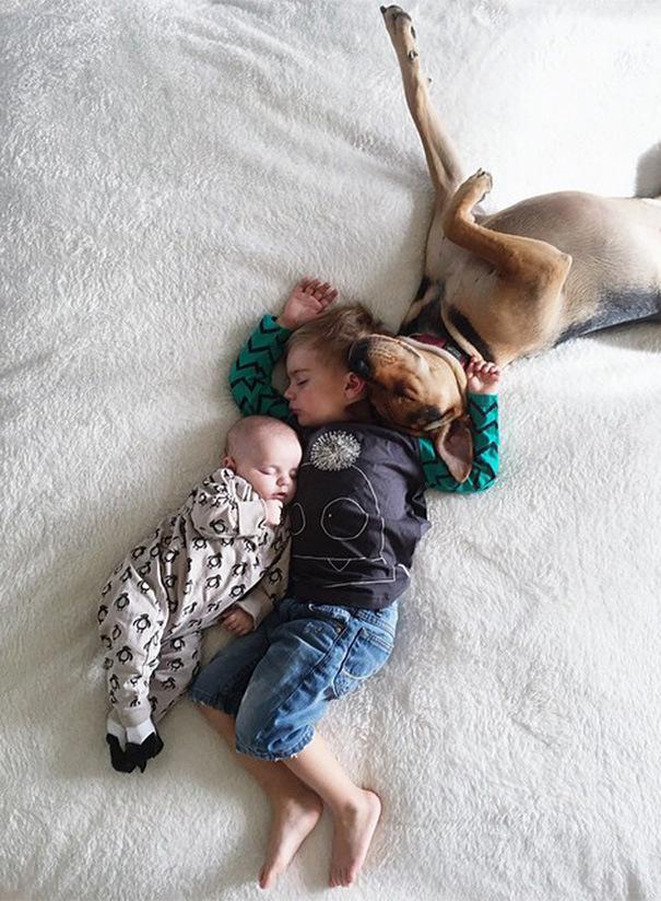 спящие дети