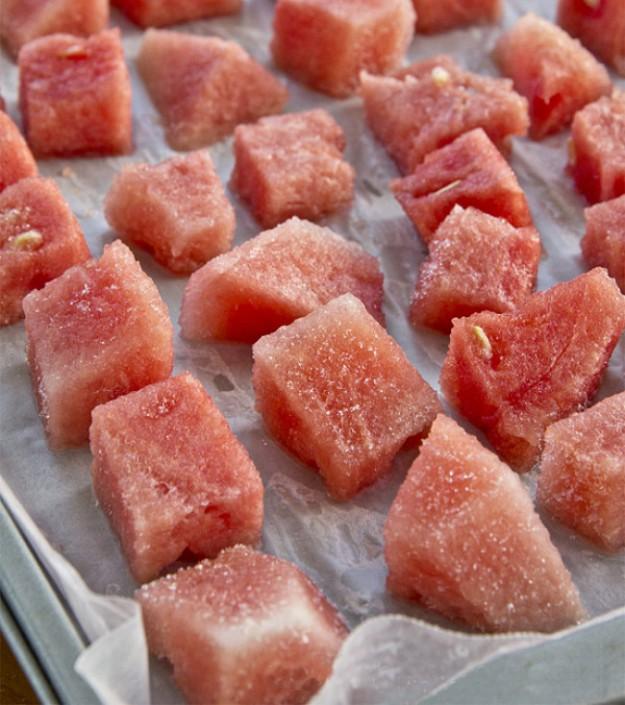 заморозить арбуз