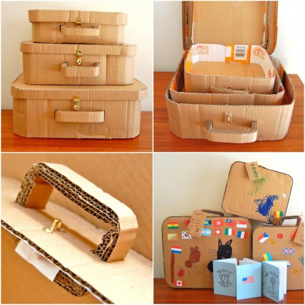Набор чемоданчиков для маленького путешественника