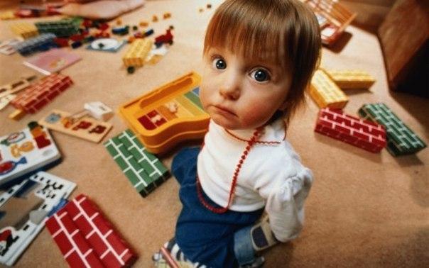 девочка которая не убирала игрушки