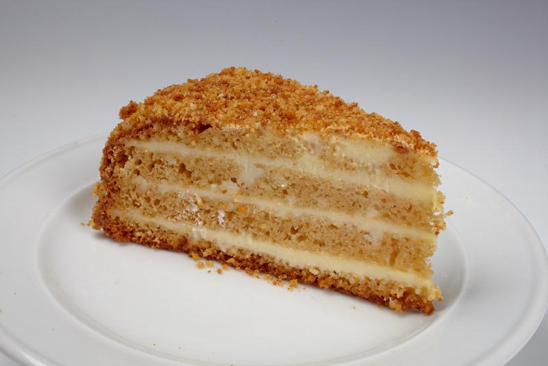 фото сметанно со медово бисквит рецепт
