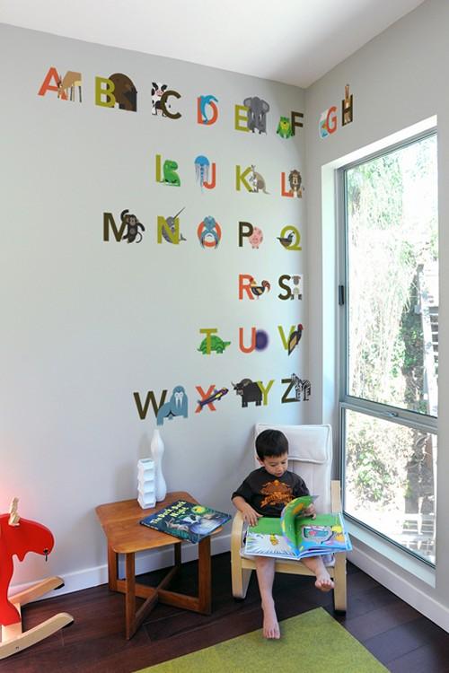 Нарисованный алфавит