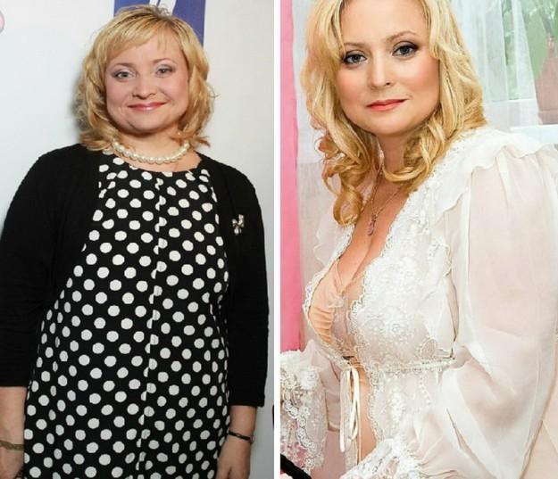 Светлана Пермякова пока еще продолжает худеть, но уже заметно изменилась