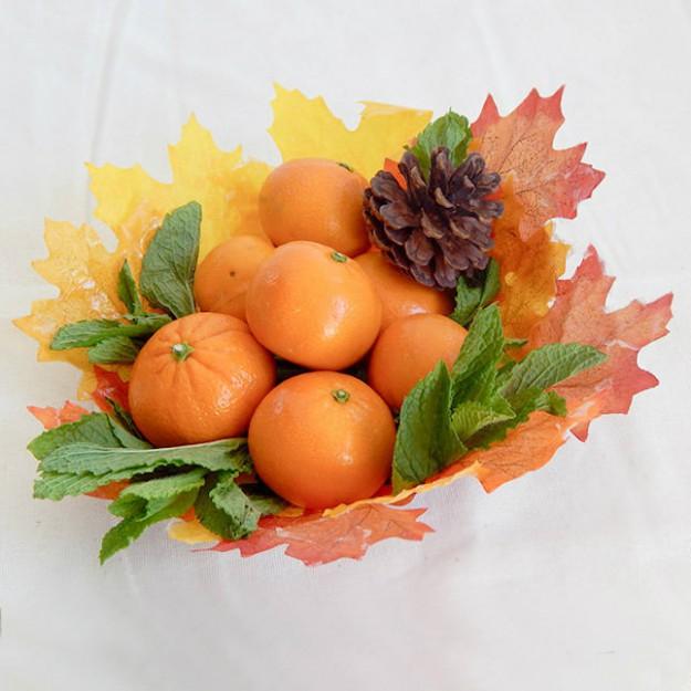 ваза из листьев5