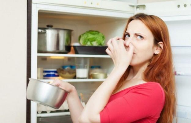 Вата с каплей эфирного масла впитает неприятные запахи в холодильнике