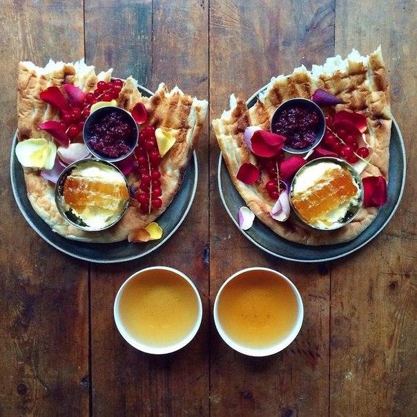 фотограф и завтрак