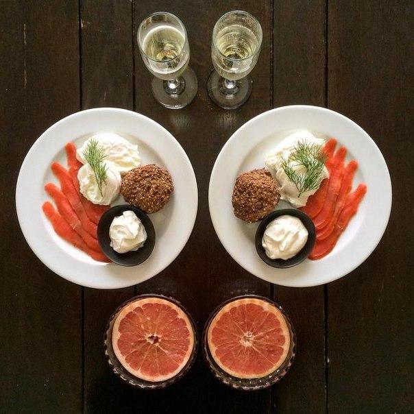 симметричный завтрак