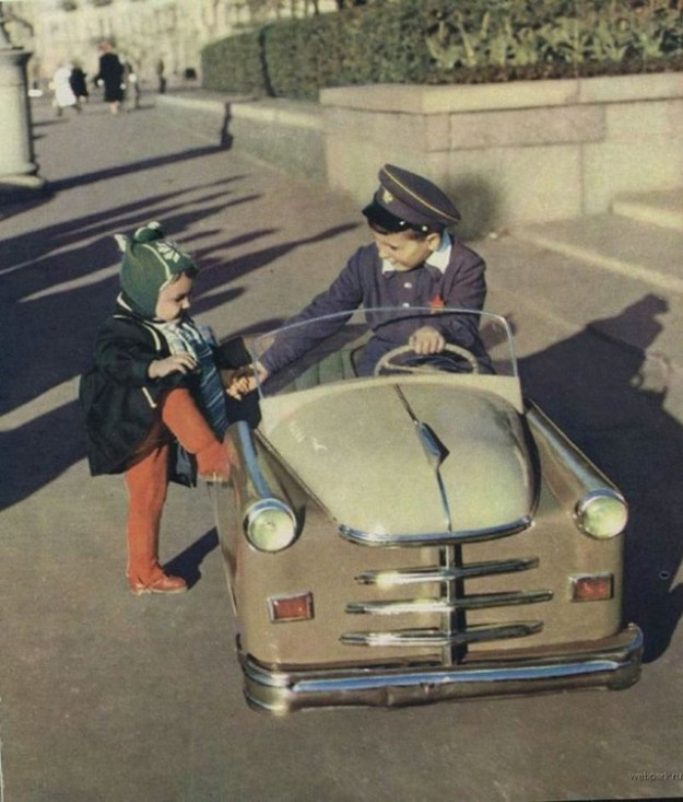 О такой машине советские дети могли только мечтать