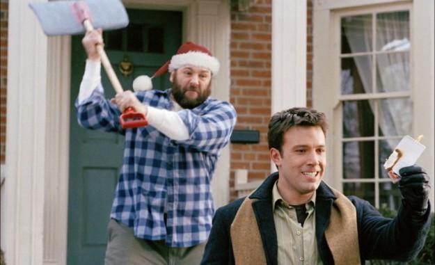 Пережить рождество (США, 2004). Замечательный фильм о парне, который в Рождество взял семью на прокат...
