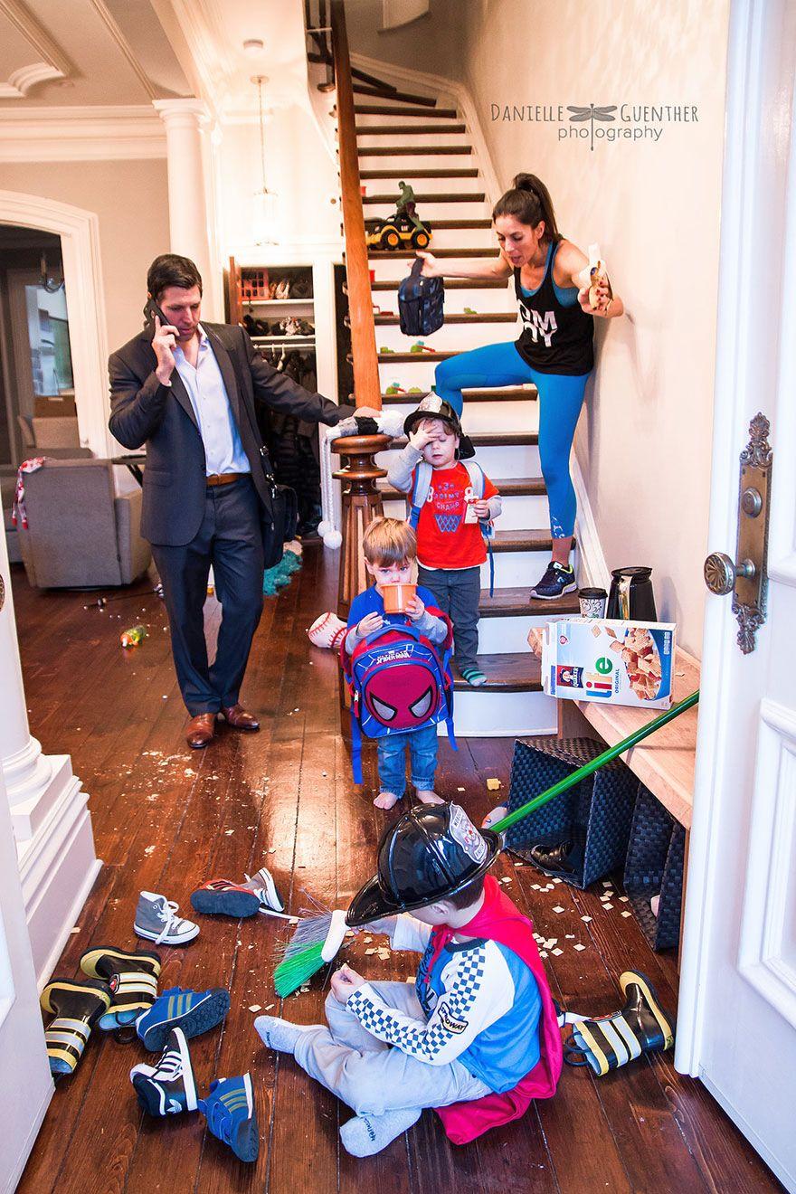семейная жизнь с маленькими детьми