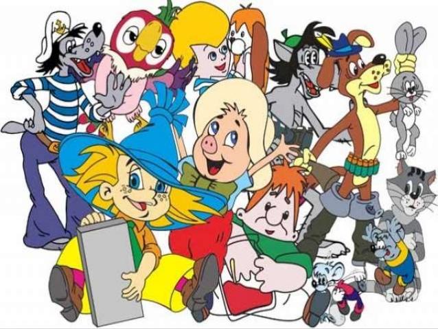 загадки про героев мультфильмов и сказок