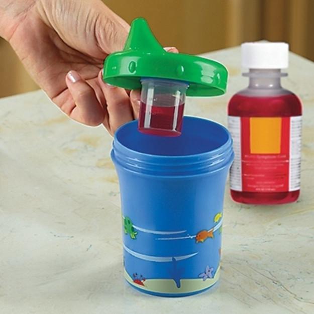 Чашечка, в которой малыш не заметит лекарство