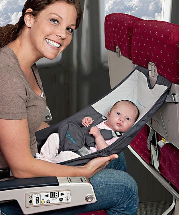Детский гамак для перелета в самолете