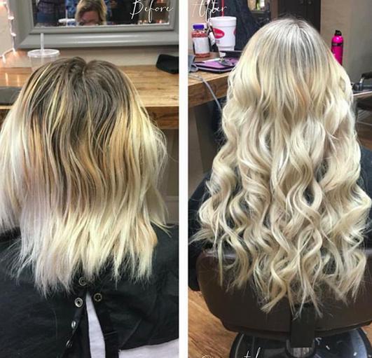 Можете попробовать нарастить волосы, если ваши долго отрастают сами